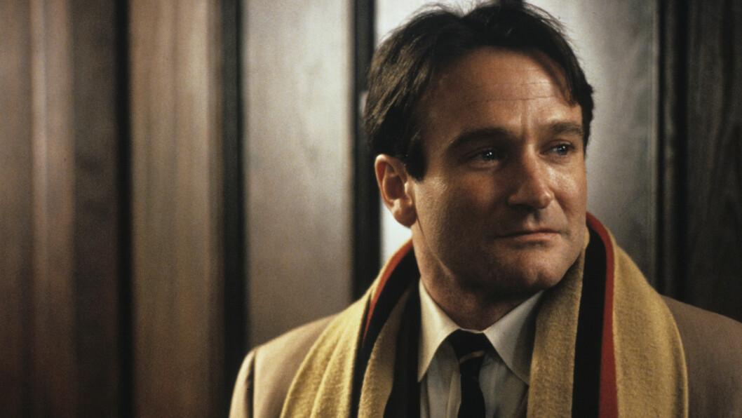 IKONISK: Robin Williams i rollen som John Keating i «Dead Poets Society» fra 1989, en rolle som sikret ham både en Oscar- og en Golden Globe-nominasjon. Foto: Stella Pictures