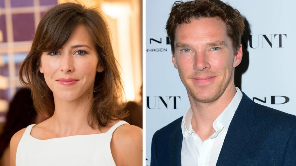 """PLANLEGGER BRYLLUP: """"Sherlock""""-skuespilleren  Benedict Cumberbatch har funnet lykken med Sophie Hunter.  Foto: All Over Press"""