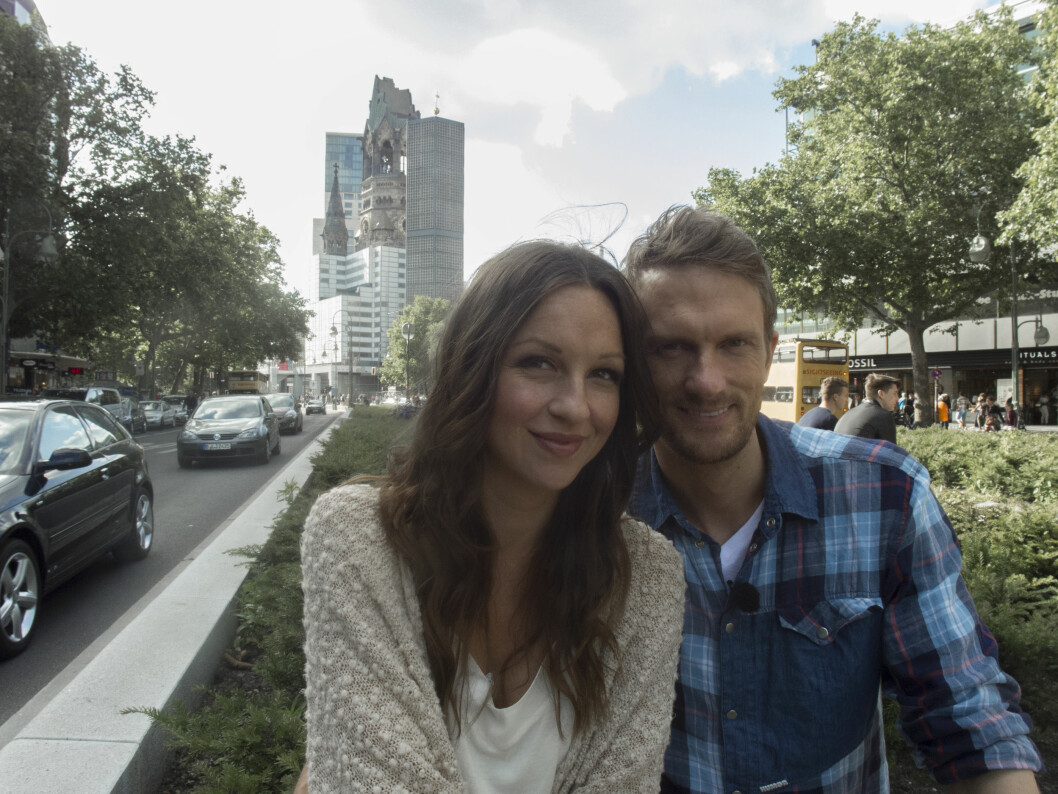 <strong>PÅ BRYLLUPSREISE:</strong> Anders og Lene giftet seg, og dro på bryllupsreise til Berlin. Foto: TVNorge