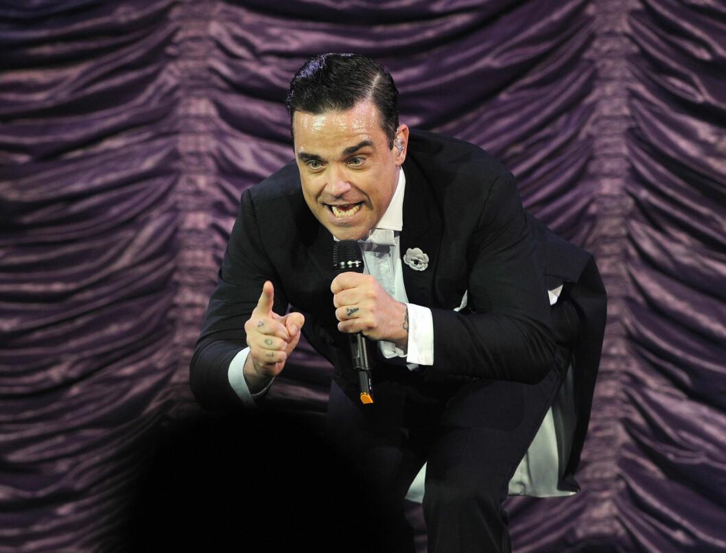 POPULÆR ARTIST: Robbie Williams har solgt mer enn 77 millioner album verden over. Foto: All Over Press