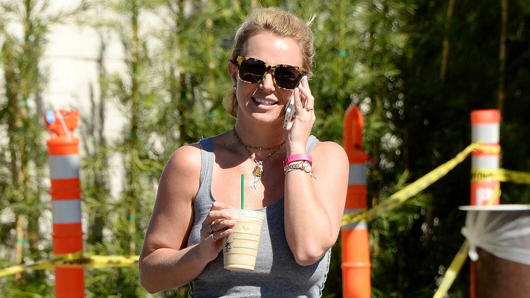 TOK RINGERUNDE: Britney Spears skal ha ringt flere av ekskjærestene sine like etter bruddet med David Lucado. Hun ønsket å la gamle følelser gjenoppstå. Foto: All Over Press