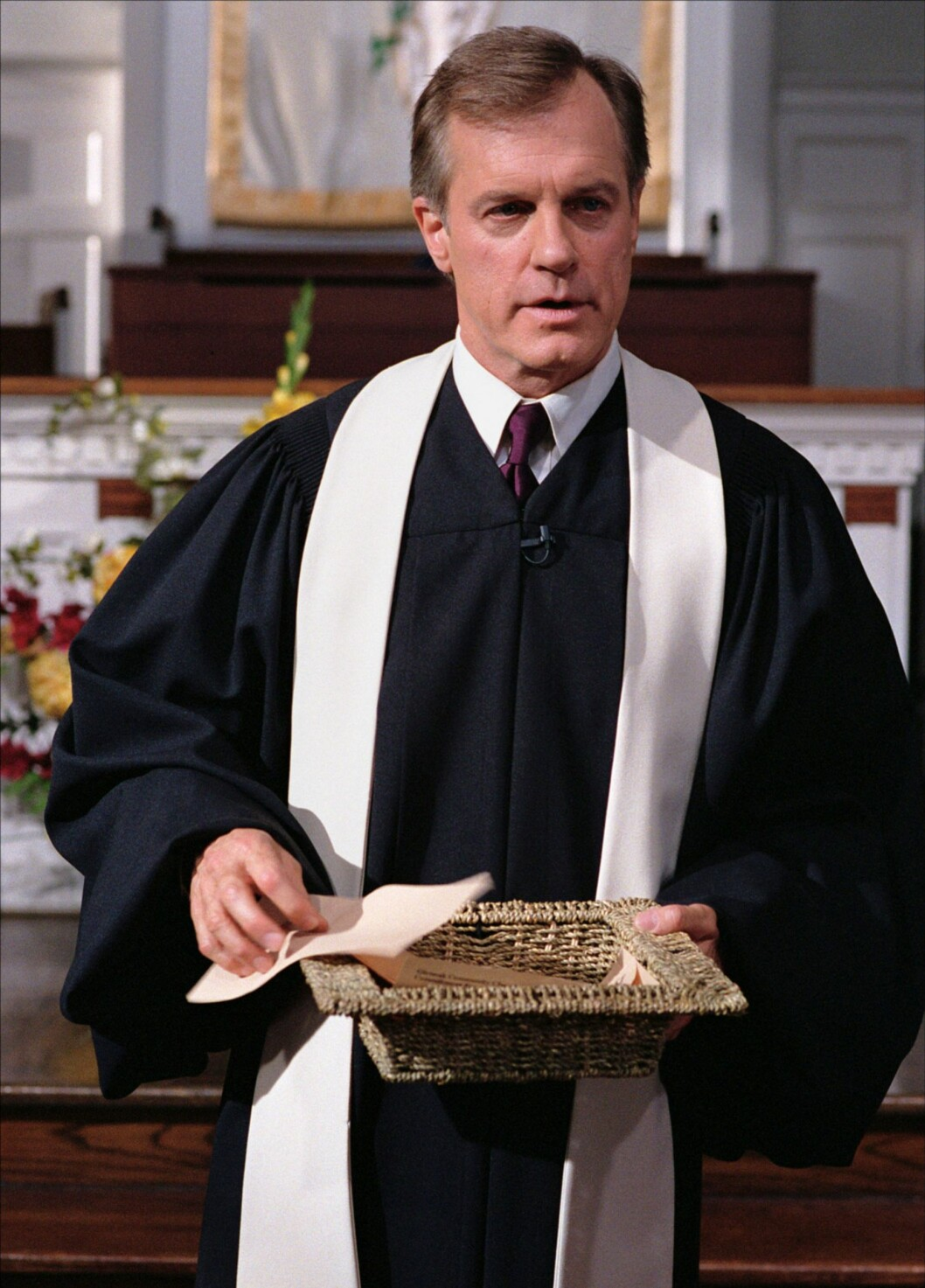 PREST: Stephen Collins spilte prest i Den syvende himmel-serien.