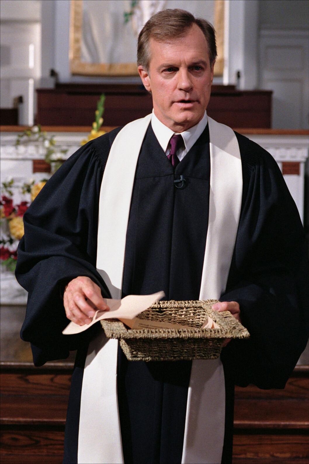 KJENT ROLLE: Collins spilte prest i TV-serien 7th Heaven. Foto: All Over Press