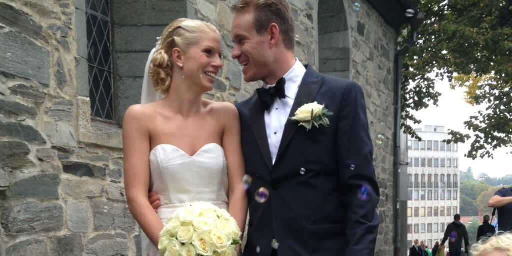 image: Nå er den norske proffsyklisten gift