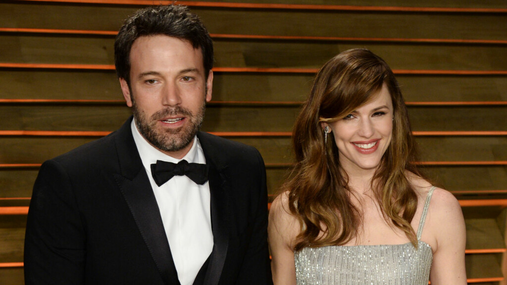 SOLID EKTESKAP: Ben Affleck og Jennifer Garner har vært gift i ni år, men er fremdeles like forelsket. Foto: REX/David Fisher/All Over Press