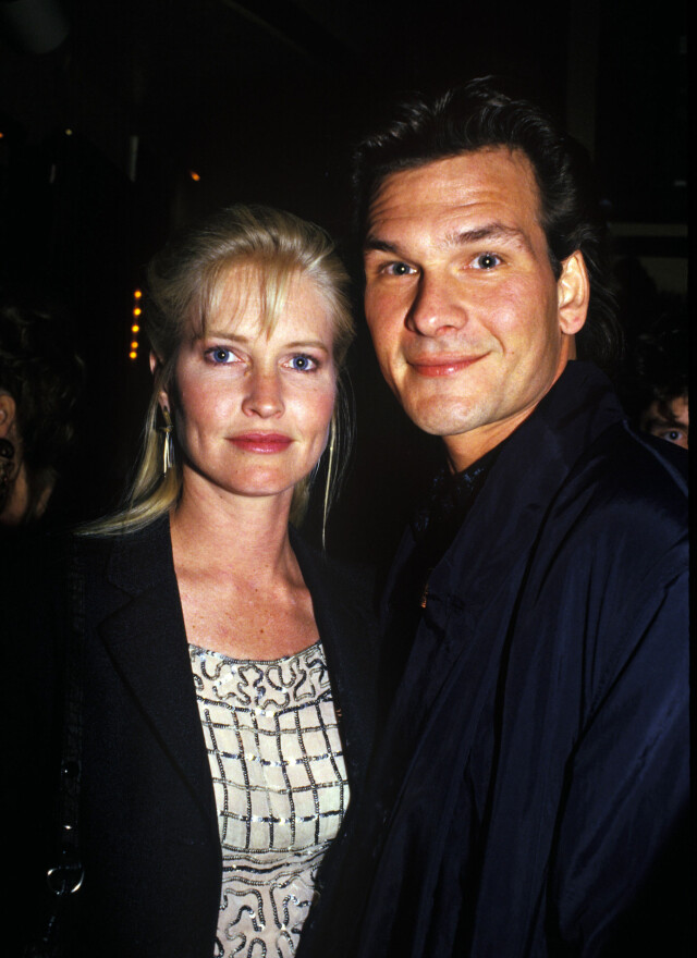 LYKKELIG GIFT: Patrick Swayze og Lisa Niemi var gift i over 34 år, og