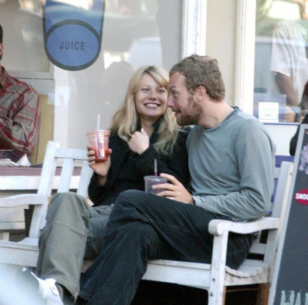 FORTID: Chris Martin ser ut til å ha lagt ekteskapet med Gwyneth Paltrow bak seg. Foto: Adao / Splash News/ All Over Press