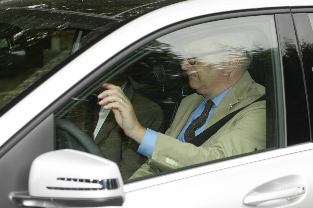 MISTET LAPPEN: Bare uker før fly-skandalen mistet prinsen førerkortet i hjemlandet. Det ble selvsagt store skriverier i pressen. Foto: imago/Belga/ All Over Press