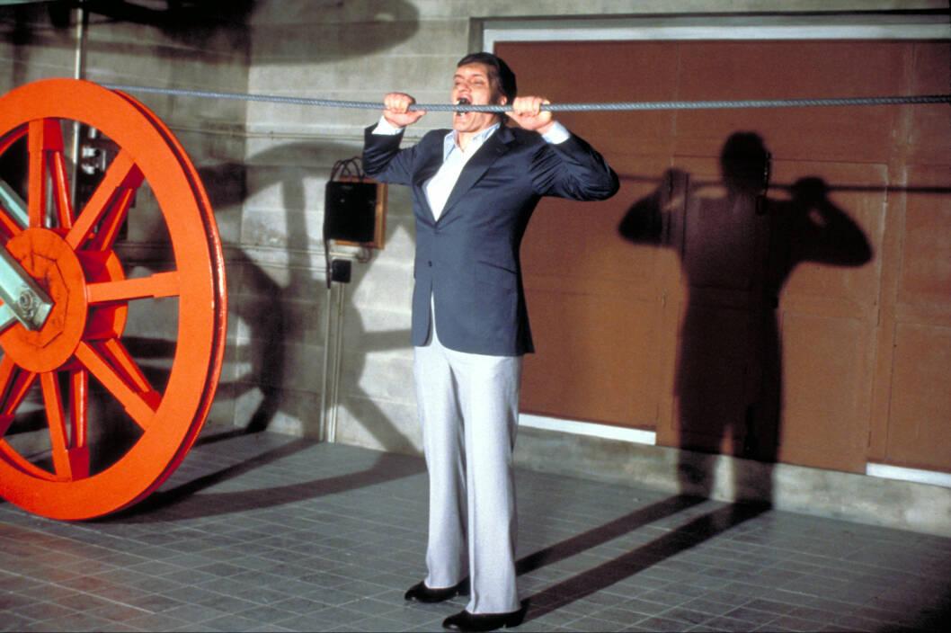 VELKJENT ROLLE: Kiel ble verdenskjent i rollen som Jaws. Her fra filmen Moonraker i 1979. Foto: insight media/All Over Press