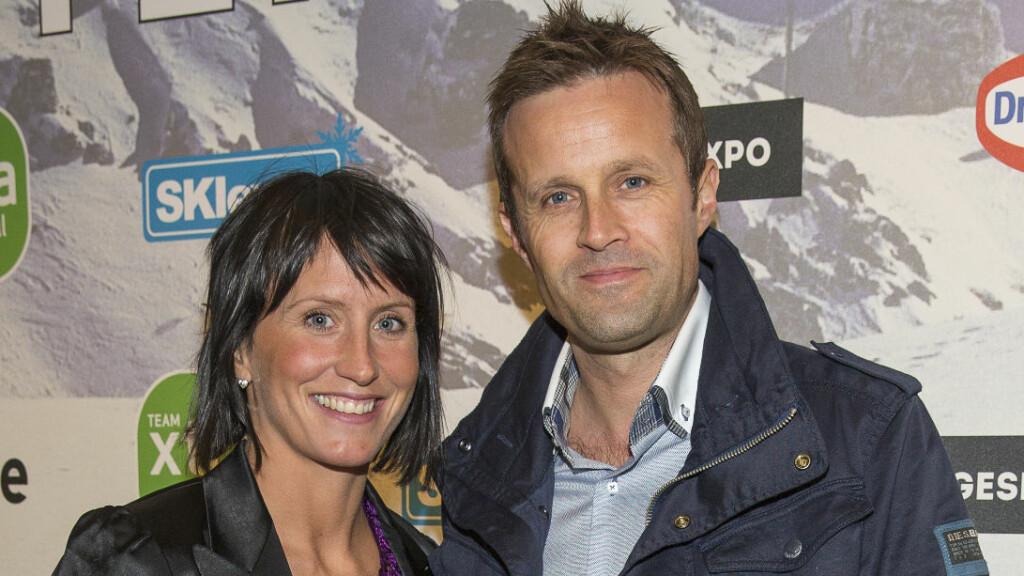 SPORTY PAR: Skiløper Marit Bjørgen har vært kjæreste med tidligere kombinert-utøver Fred Børre Lundberg siden 2005. Her fra Aukland-brødrenes skigalla i fjor.