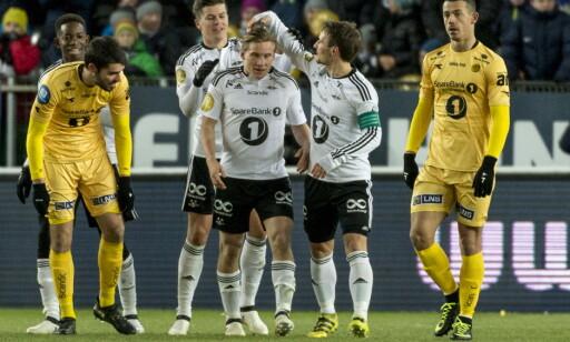 DEPPER: Bodø/Glimt spiller i 1. divisjon neste år etter tap mot RBK. Foto: Ned Alley / NTB scanpix