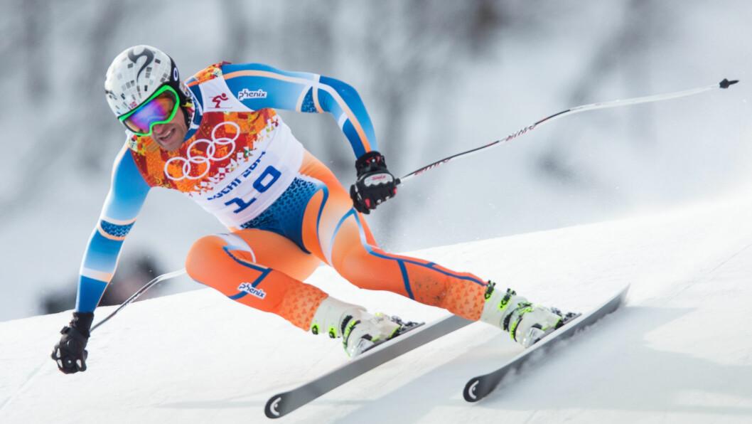 BLE UTBRENT: Under OL i Sotsji (bildet) skjønte Aksel Lund Svindal at noe var galt med formen, men han hadde ikke tid til å fikse det. Etter nedturen i OL og i Verdenscupen var 31-åringen nødt til å ta en time-out, forteller han til Dagbladet i dag.  Foto: Stella Pictures