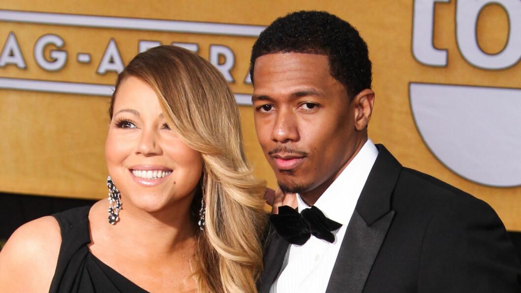 BRUDD: Mariah Carey og Nick Cannon skal snart offentliggjøre bruddet, ifølge flere utenlandske medier.  Foto: All Over Press