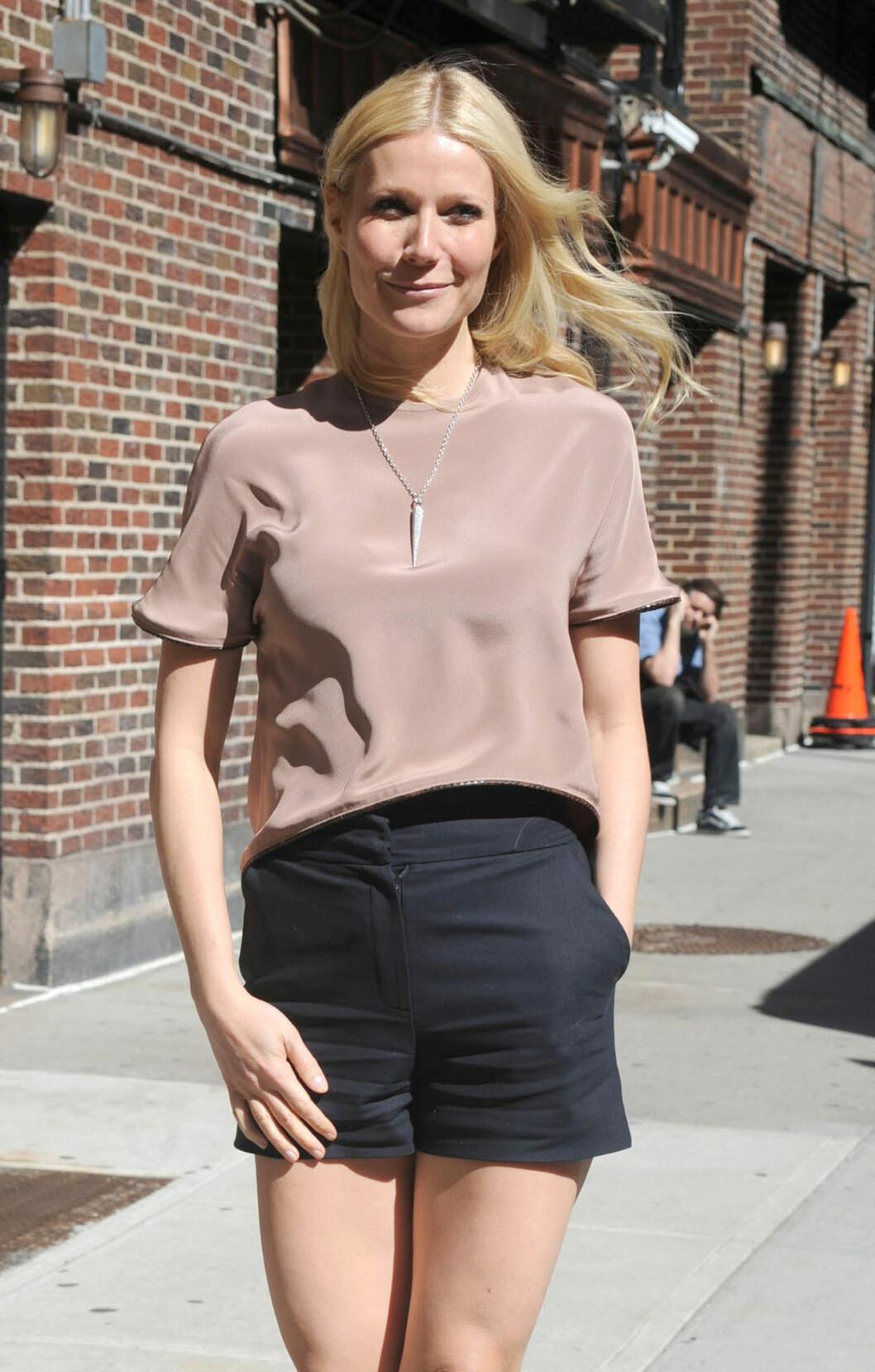 MOTSETNING: Martins ekskone, Gwyneth Paltrow, skal være den rake motsetningen av Lawrence. Foto: All Over Press