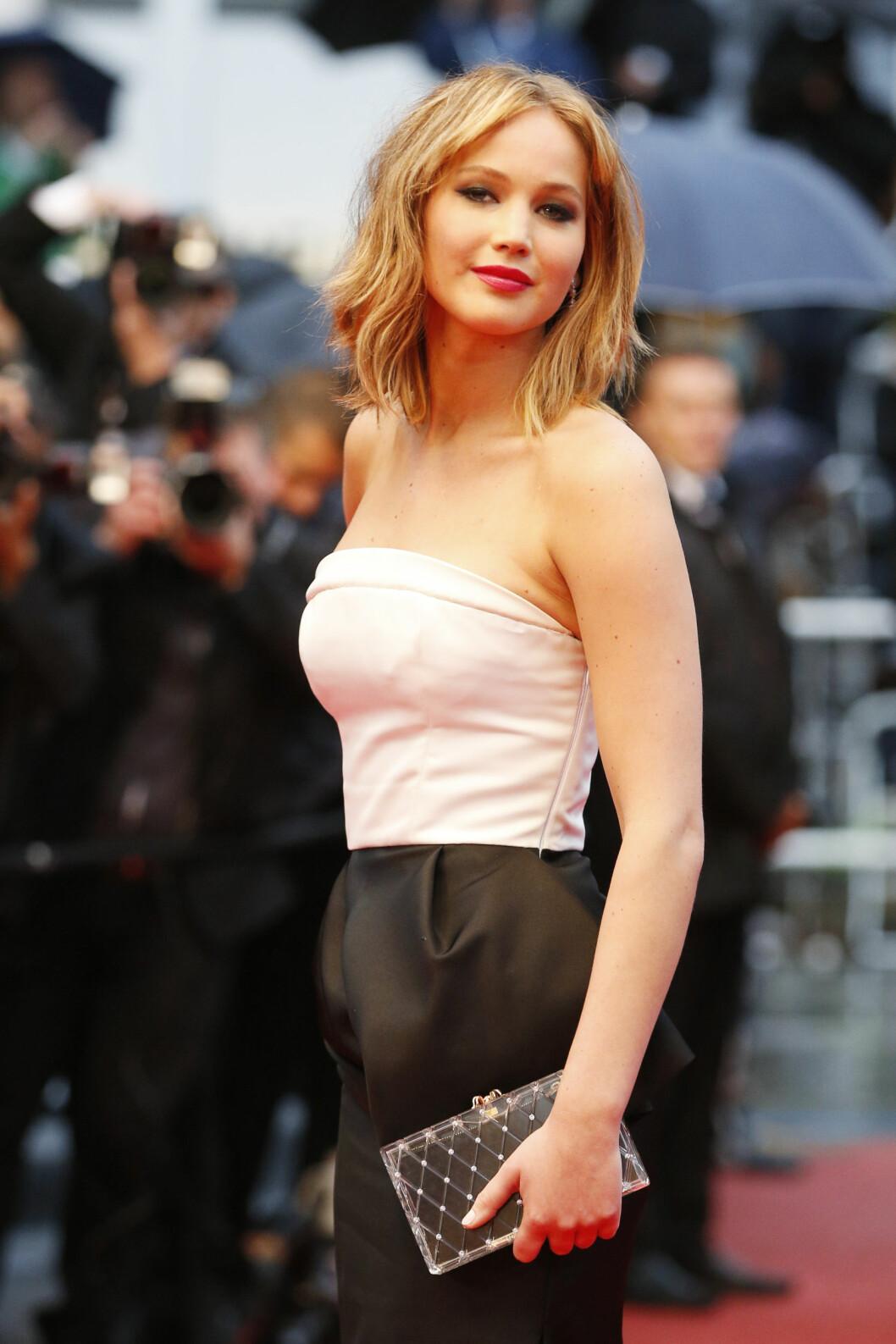 OSCAR-VINNER: Lawrence har vunnet Oscar for sin rolle i filmen Silver Linings Playbook. Foto: FameFlynet