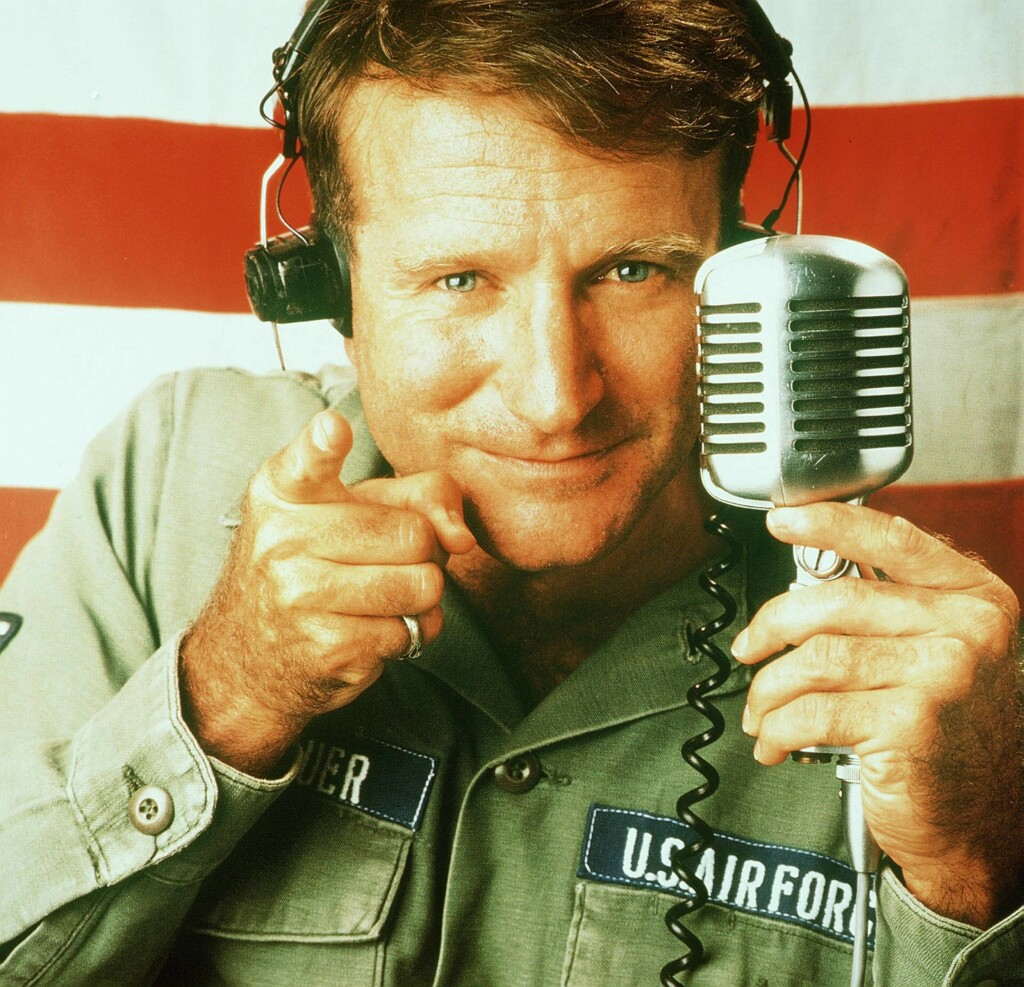GJENNOMBRUDD: Robin Williams ble verdensberømt for sin rolle i komedien «Good Morning Vietnam» fra 1987. Foto: IMAGO/ All Over Press