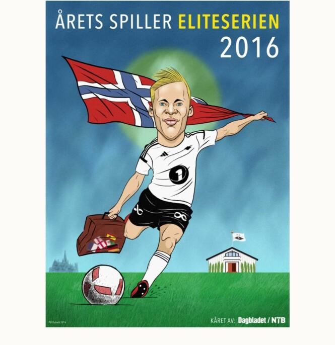 VANT: Jonas Svensson er kåret til årets spiller i Tippeligaen av Dagbladet og NTB.