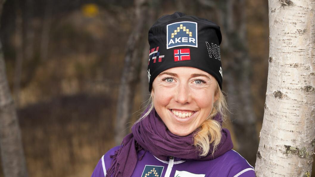 ØNSKER SEG BARN: Skistjernen Kristin Størmer Steira sier til Aftenposten at hun ønsker seg barn. Foto: Tor Lindseth