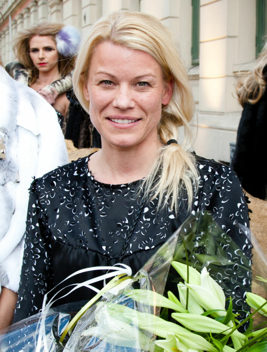 TSH: Motedesigner Tina Steffenakk Hermansen er kvinnen bak mange av kjendisenes favoritt kjoler. Foto: Stella Pictures