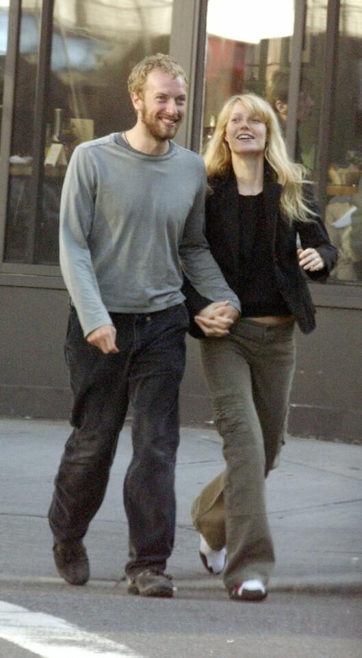 DEN GANG DA: Et forelsket par nøt hverandre og New Yorks gater våren 2003.  Foto: Splash News/ All Over Press