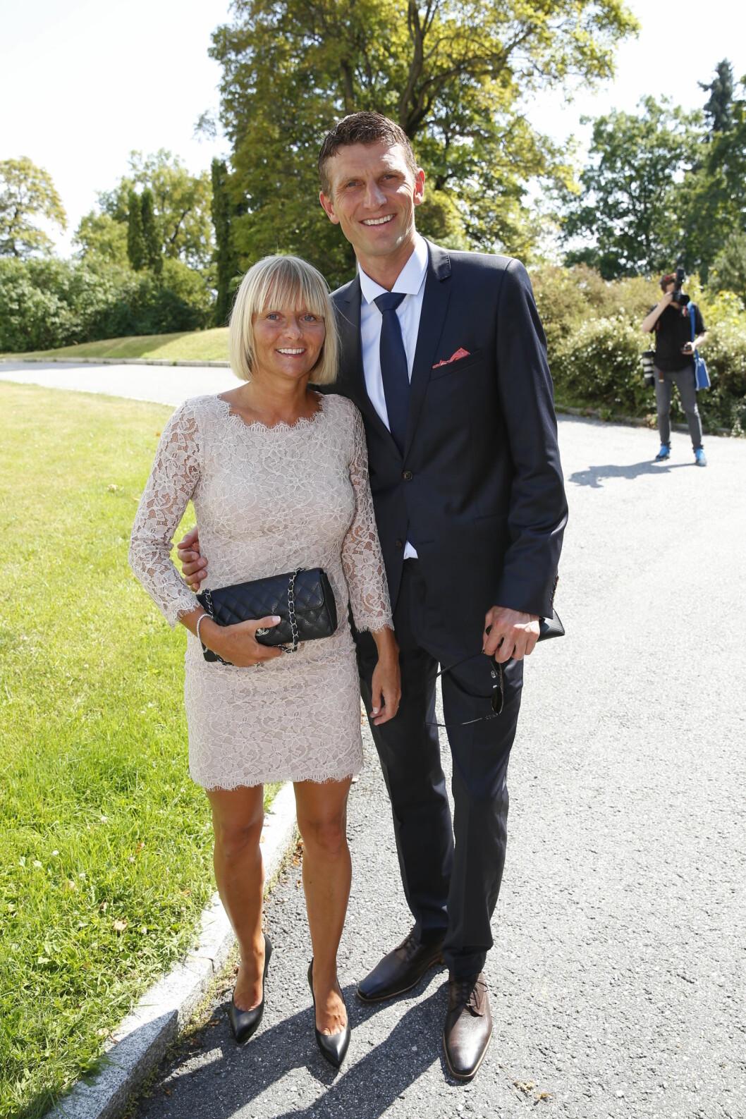 BRYLLUPSGJESTER: Randi og Tore Andre Flo. Foto: Espen Solli