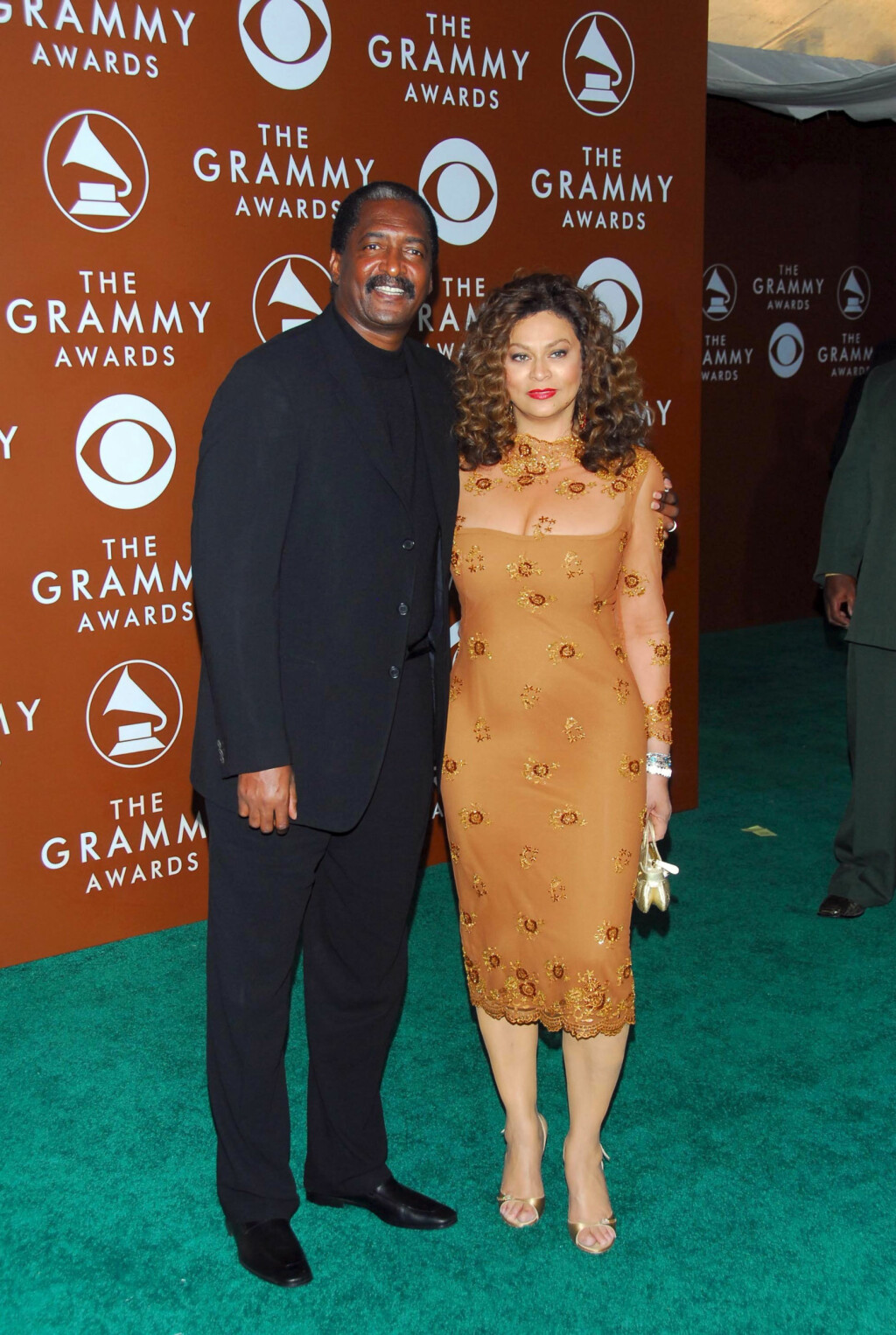 BEYONCES FORELDRE: Mathew Knowles og Tina Knowles avbildet i 2006, fire år før skilsmissen. Foto: REX/Jim Smeal/All Over Press