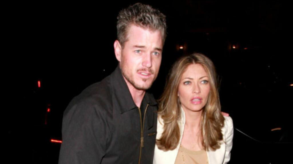 ANGRER: Eric Dane angrer på den erotiske filmen han lagde med kona og en ung modell i 2009.