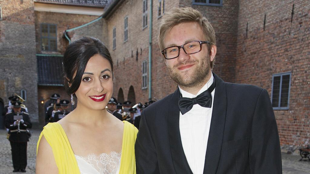 HEMMELIG BRYLLUP: Hadia Tajik og kjæresten Stefan Hegglund gifter seg i helgen, men alt rundt bryllupet er hemmelig. Selv hvor det er.  Foto: Tore Skaar/Se og Hør