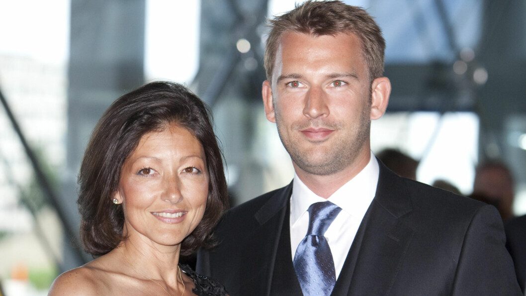 GODT GIFT: Grevinne Alexandra og filmfotografen Martin Jørgensen giftet seg i 2007. Hun har to sønner med prins Joachim av Danmark, mens han har en datter han fikk i tenårene. Foto: All Over Press