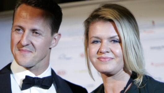 Schumacher reagerer på konas stemme