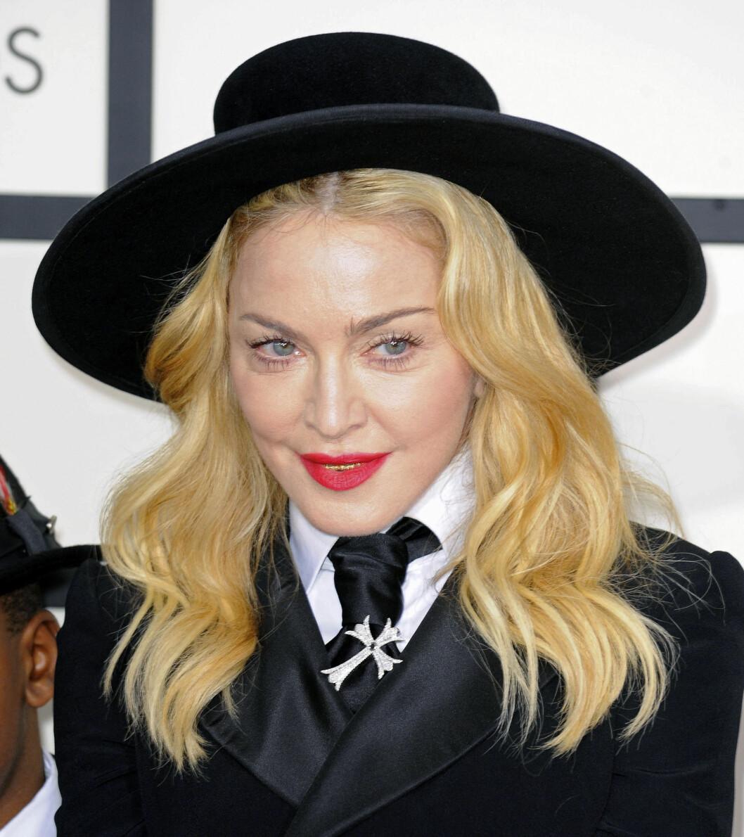 KJENT FJES: Madonna er en av kjendisene som tilhører trosretningen Kabbalah. Foto: FameFlynet