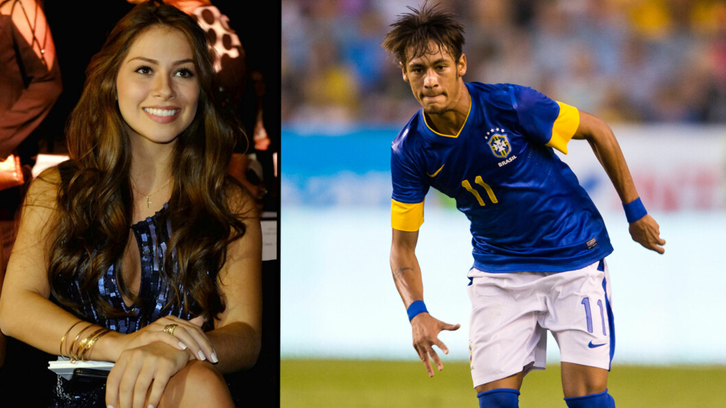 <strong>STJERNEPAR:</strong> Fotballstjernen Neymar har vært sammen med den brasilianske modellen Gabriella Lenzi i to måneder. Foto: All Over Press, Stella Pictures