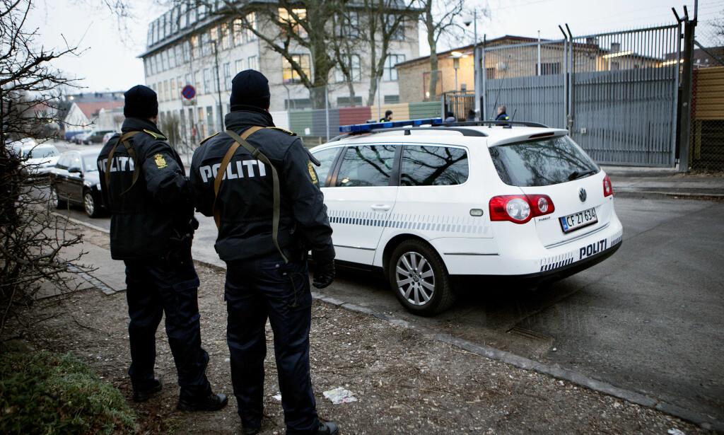 LANG LISTE: Noen av politiovertrampene i Danmark er meget alvorlige for enkeltpersoner som ikke har fått hjelpen de har rett på. Andre er også komisk lesing. Illustrasjonsbilde. Foto: Ritzau / NTB Scanpix.