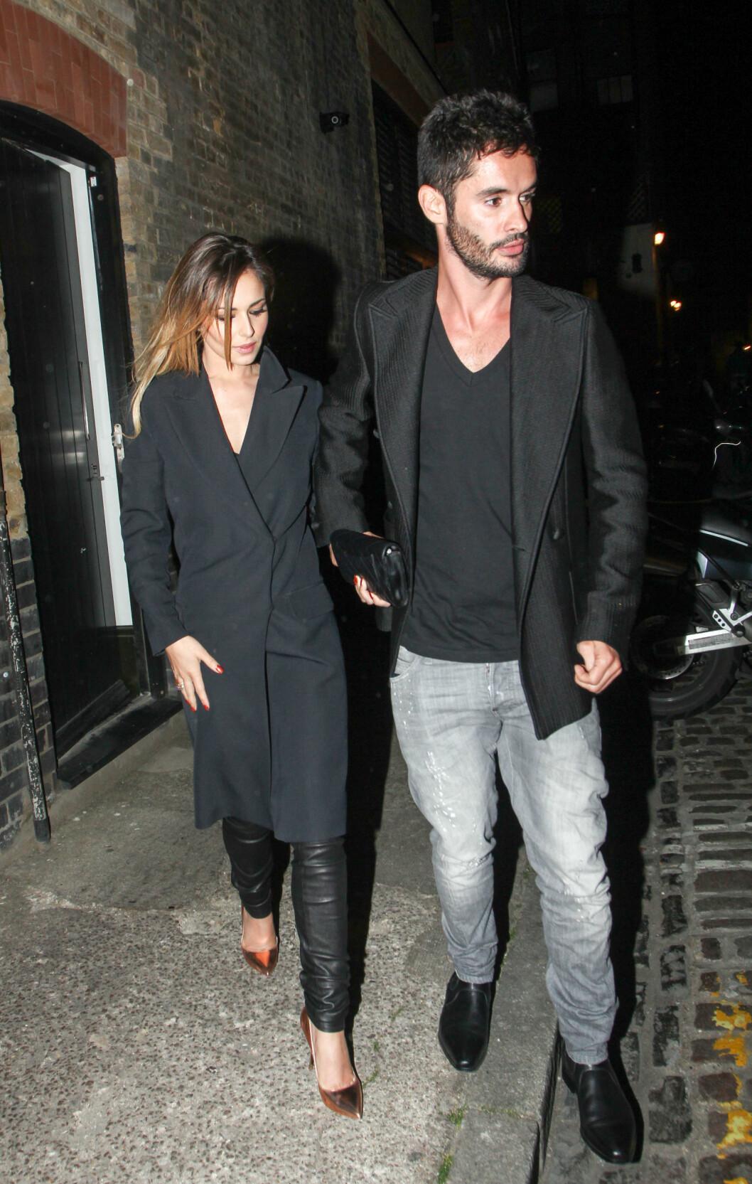 NYTT PAR: Cheryl Cole var i forrige uke på date med sin nye kjæreste Jean-Bernard Fernandez-Versini.  Foto: Splash News/ All Over Press