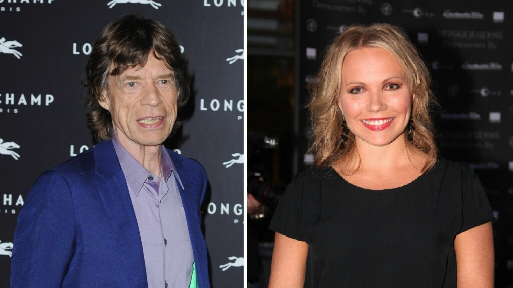 STJERNEMØTE: Lene Marlin var så heldig å få slå av en prat med Mick Jagger da han besøkte hovedstaden denne uken. Foto: Fame Flynet