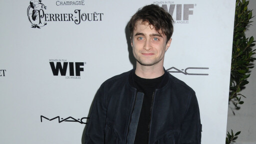 VAR ALKOHOLIKER: Venner av Daniel Radcliffe forteller at Harry Potter-stjernen var avhengig av alkohol i en alder av 18. Foto: Byron Purvis/AdMedia/Splash News/ All Over Press