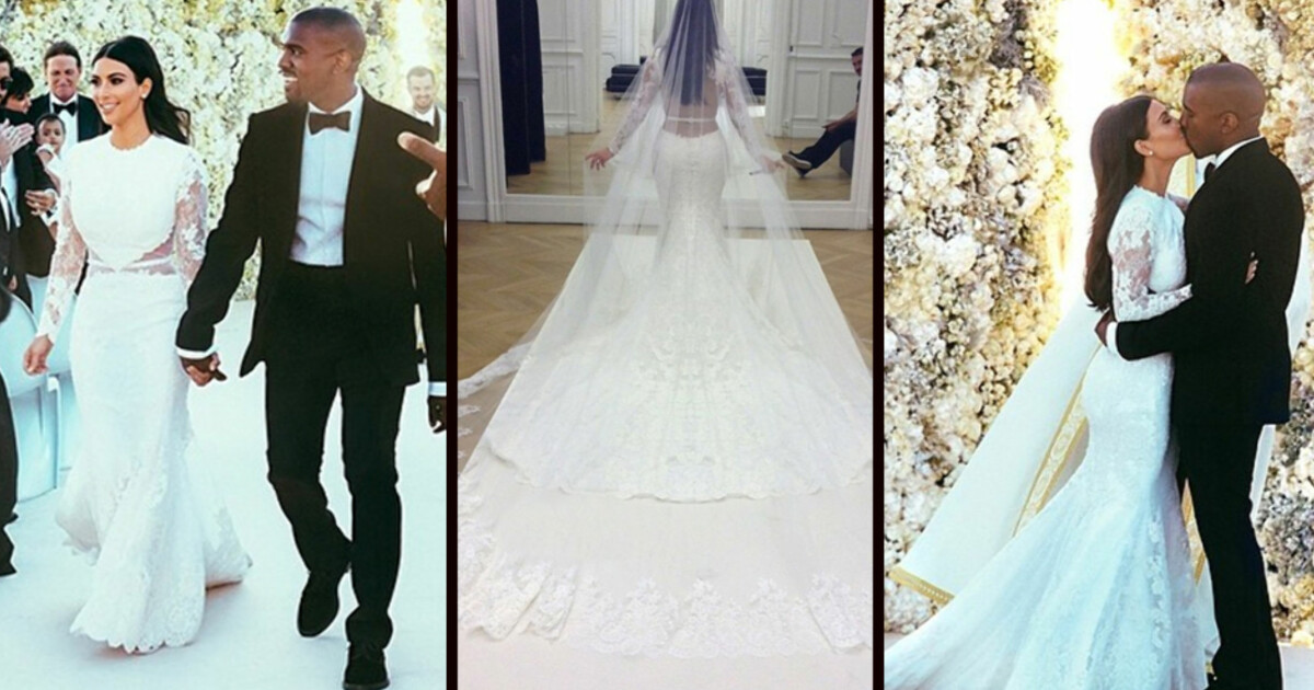 8f799bad Kim kardashian: Brudekjolen kostet 12 millioner kroner - Se og Hør