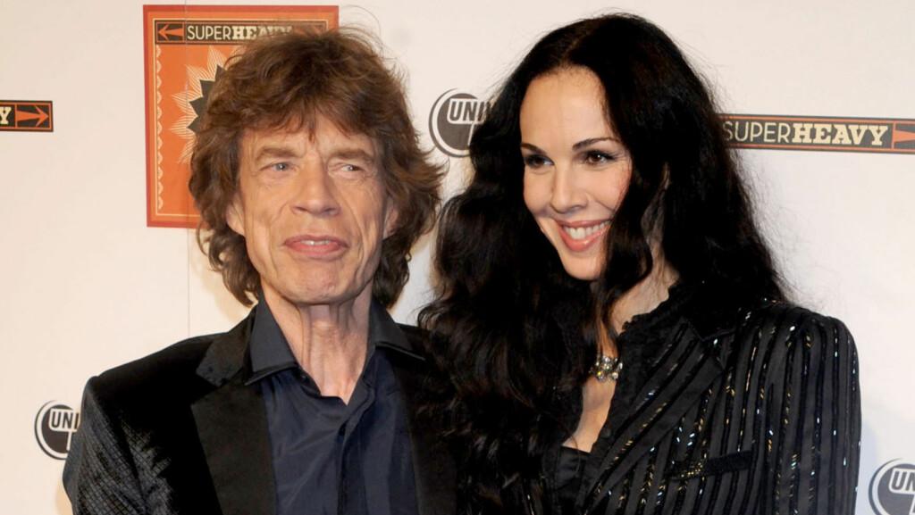 TUNGT ÅR: Mick Jagger er fortsatt i sorg etter at kjæresten L'Wren Scott ble funnet død i mars. Nå har han mistet en ny venn.  Foto: Brock Miller/All Over Press