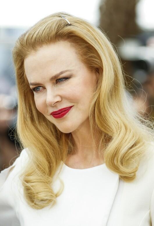 I CANNES: Nicole Kidman sammenligner Grace med Mary. Foto: Photoshot/All Over Press
