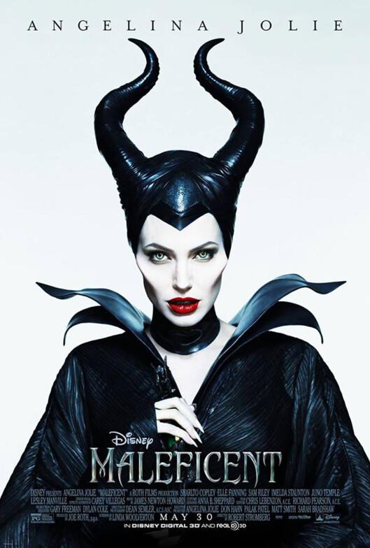 SKUMMEL: Angelina Jolie har jobbet med «Maleficent», der hun spiller en ond fe, i et par år. Kanskje noen av de dystre festantrekkene er inspirert av rollefiguren hennes?  Foto: Stella Pictures