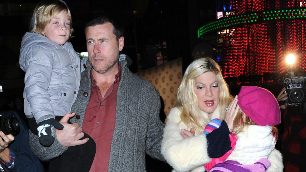 TØFF TID: Paret vurderer skilsmisse etter at Dean innrømmet å ha vært utro.  Foto: Stella Pictures