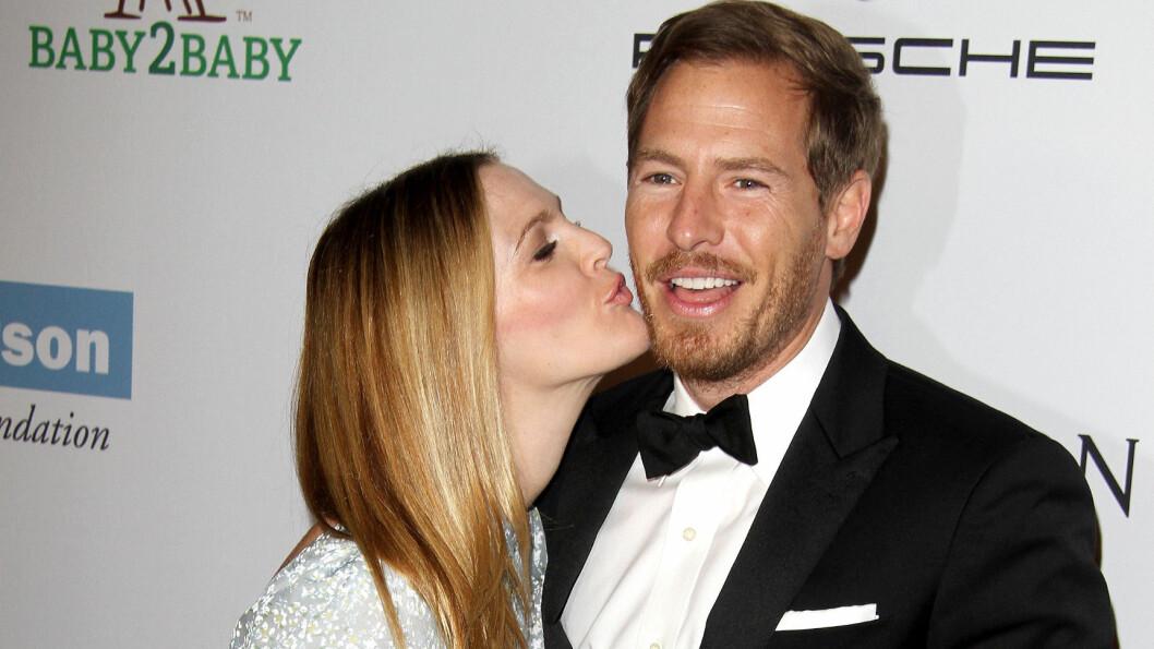 FØDTE SIN ANDRE DATTER: Drew Barrymore og ektemannen Will Kopelman kunne tirsdaf ønske et nytt familiemedlem velkommen. Foto: FameFlynet