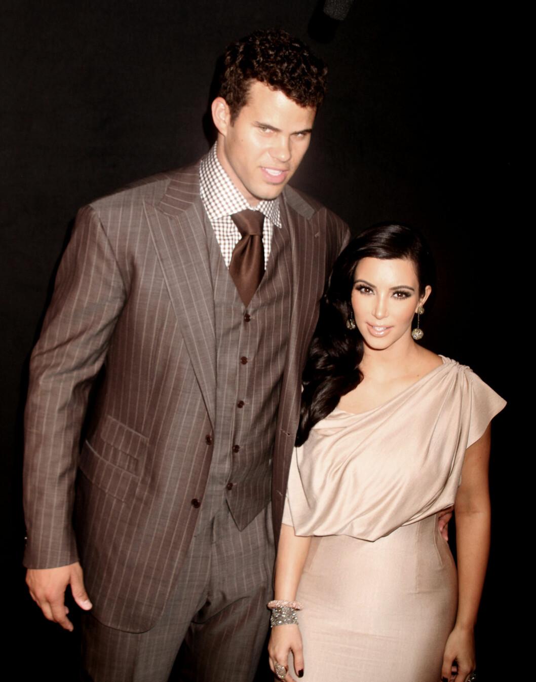 KORT LYKKE: Kims ekteskap med Kris Humphries varte i 72 dager.  Foto: FameFlynet