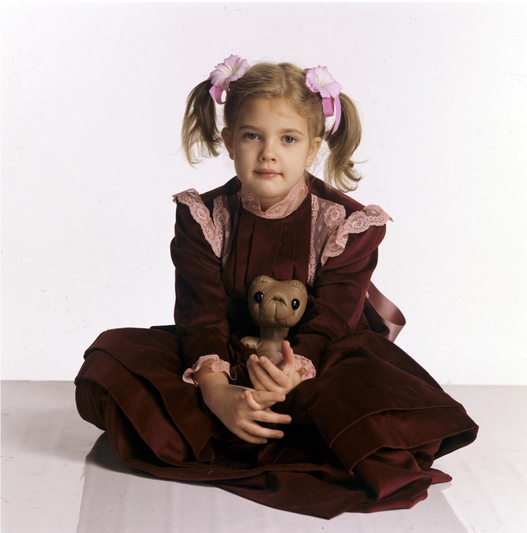 ENSOM BARNDOM: Drew slo gjennom som barn i «E.T.» i 1982 og fikk enormt mye oppmerksomhet av verdenspressen. Likevel forteller hun at barndommen var svært ensom uten søsken. Foto: REX/Beverley Goodway/All Over Pr