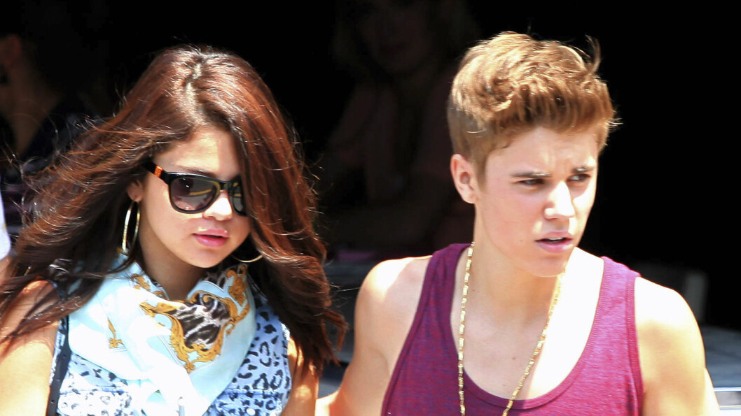 GJENFORENT?: Det tidligere stjerneparet Justin Bieber og Selena Gomez var tidligere i år på campingferie sammen i California. Her er stjernene avbildet ved en annen anledning høsten 2012.  Foto: Stella Pictures