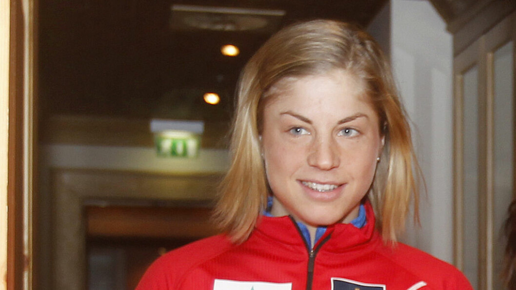 TUNG DAG: Langrennsstjernen Astrid Uhrenholdt Jacobsen fikk sjokkbeskjeden om brorens bortgang under OL i Sotsji.  Foto: Stella Pictures