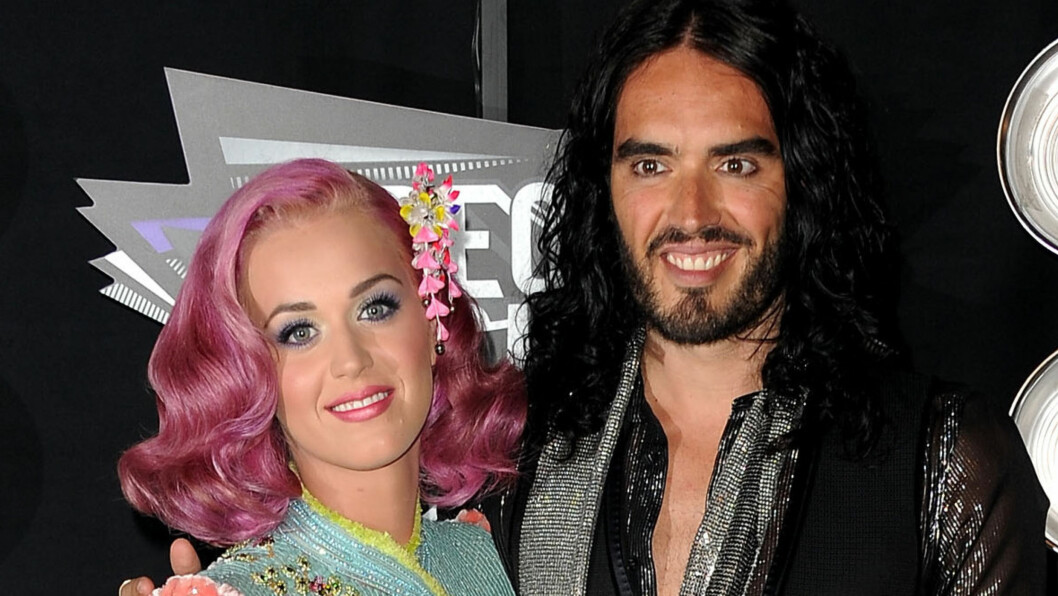 TIDEN LEGER ALLE SÅR: Katy Perry var knust etter at forholdet til den britiske komikeren Russell Brand tok slutt. Foto: All Over Press