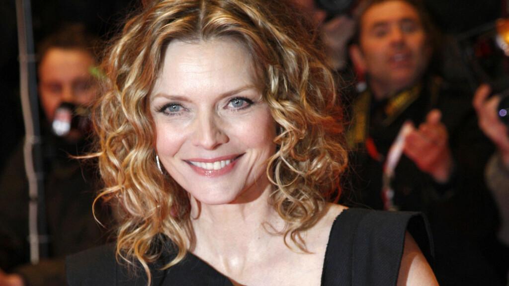 SKJØNNHET: Michelle Pfeiffer er med sine 53 år en av de vakreste filmstjernene i sin generasjon, og etter en årrekke i Hollywood er hun fremdeles et av de heteste navnene i filmbyen.