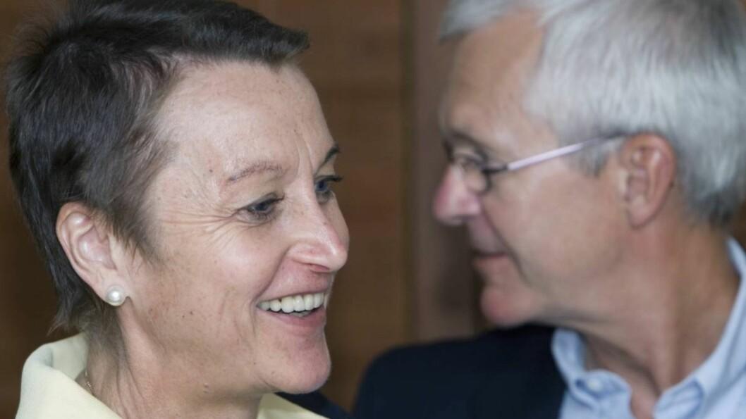 GODT GIFT: Grete Waitz og ektemannen Jack har vært gift siden 1975.
