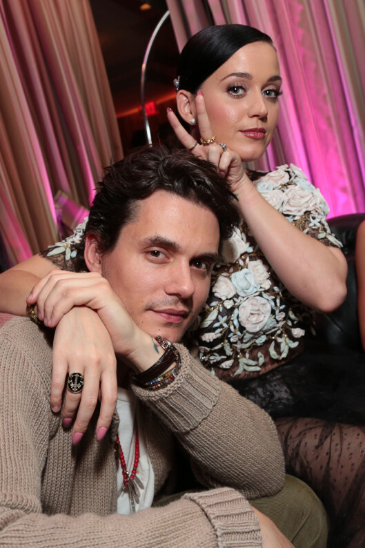 POPULÆR: Det er ikke bare kjæresten John Mayer som har sansen for Katy Perry. Over 50 millioner mennesker følger henne nå på Twitter. Foto: action press/All Over Press